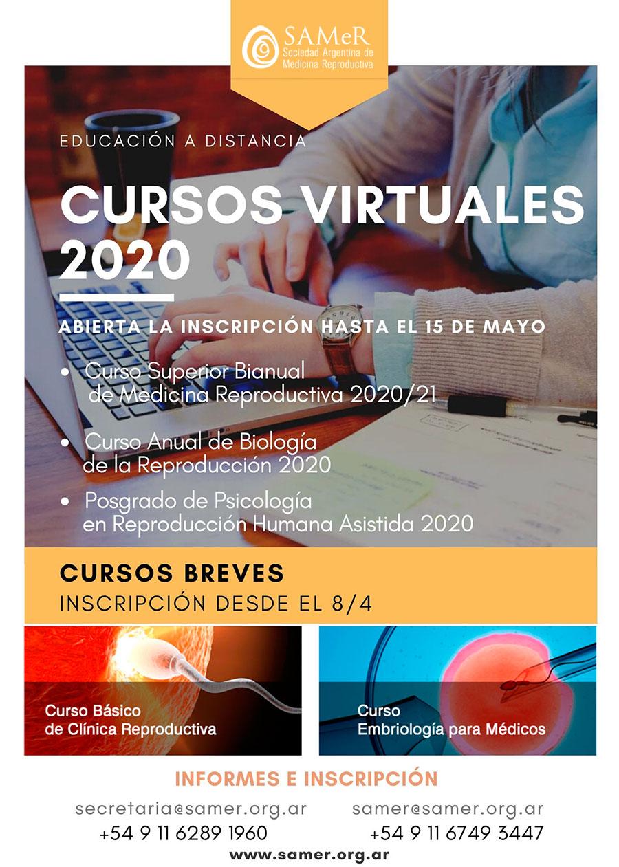 Cursos online SAMeR 2020