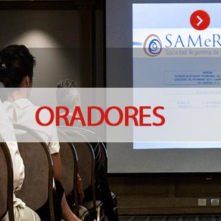 oradores congreso samer